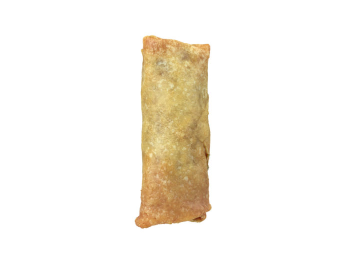 front view rendering of a mini springroll 3d model