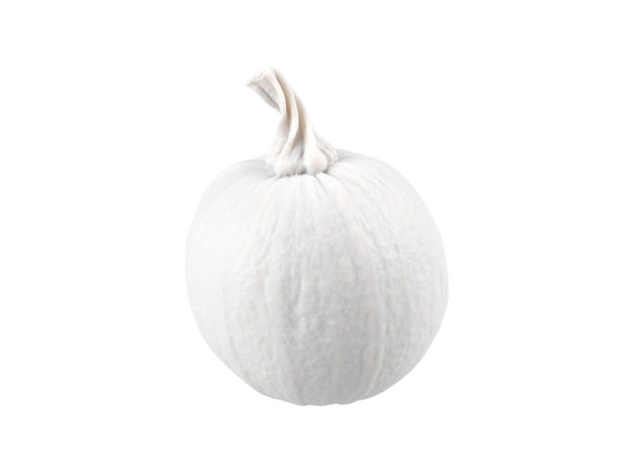 clay rendering of a decorative gourd 3d model