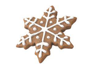 Gingerbread Snowflake #2