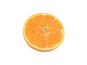Orange Half #1